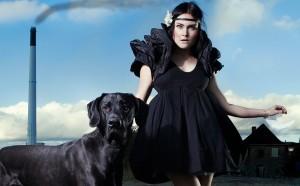 Dress from collection Dote. Design: Linda Vasel (The Danish Design School). Photo source: Muuse.