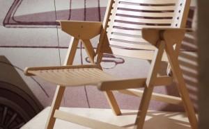 Rex chair by Niko Kralj, a Slovenian designer.