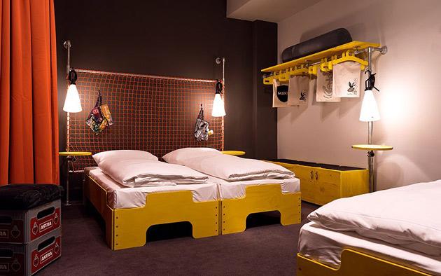 the best designed european hotels in 2012 designagenda. Black Bedroom Furniture Sets. Home Design Ideas