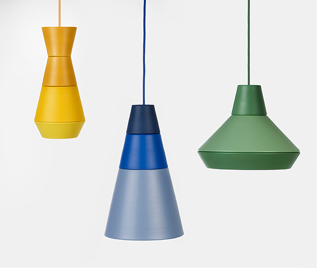 ILI-ILI (either or) pendant lights are new design from Grupa (Filip Despot, Tihana Taraba and Ivana Pavic). Photo: Berislava Picek.