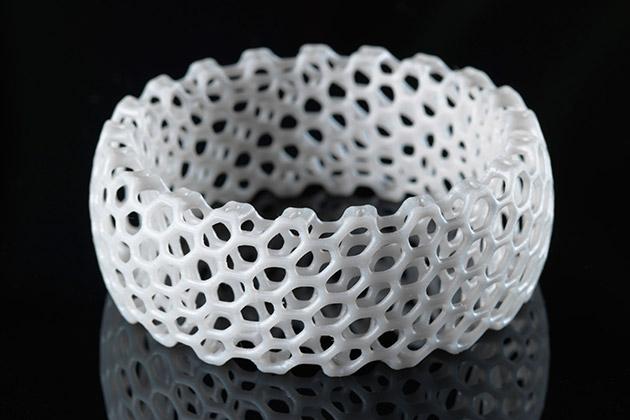 3-D printed bracelet: Credit: NERVOUS SYSTEM.