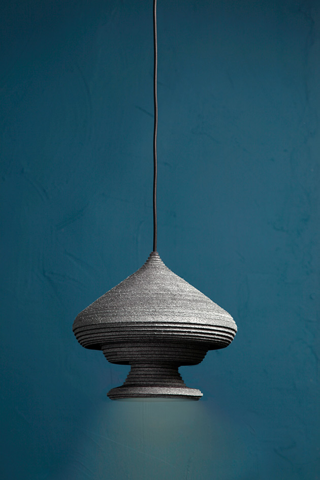 Sherazade, pendant light by Siba Sahabi. Photo: Lisa Klappe.