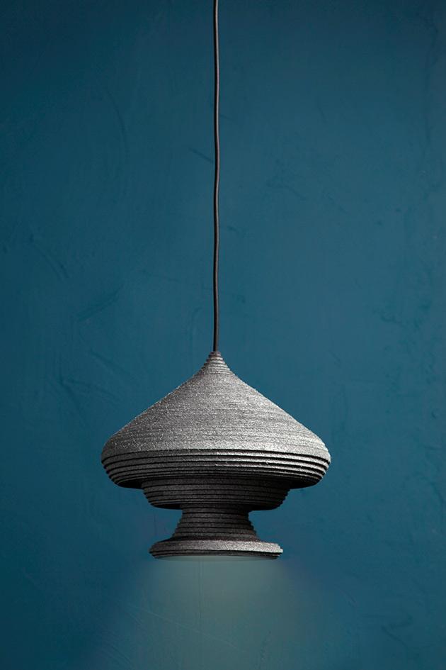 Sherazade, pendant light by Siba Sahabi. Photo: Lisa Klappe.